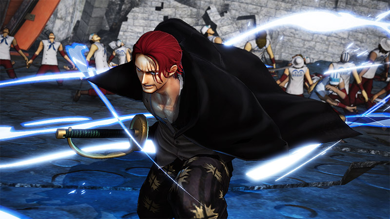 Shanks personnage jouable
